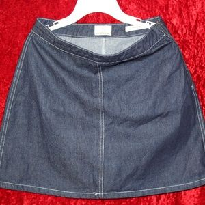 (Cotton On)Denim A-Line Mini Skirt (I Take Offers)